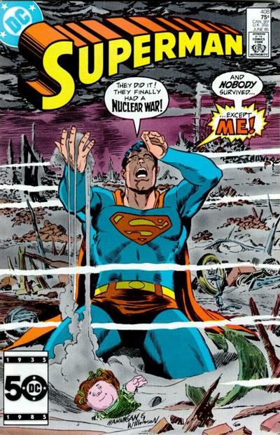 Cover for Superman (DC, 1939 series) #408