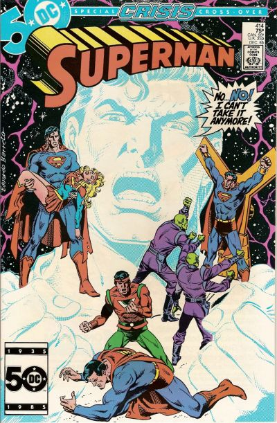 Cover for Superman (DC, 1939 series) #414 [Direct Sales]