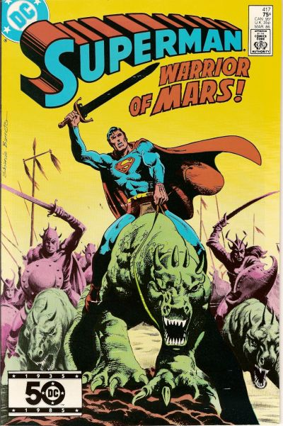 Cover for Superman (DC, 1939 series) #417 [Direct Sales]