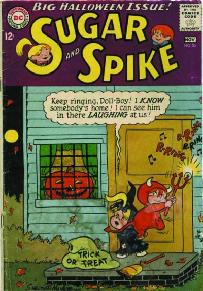 Cover for Sugar and Spike (DC, 1956 series) #55