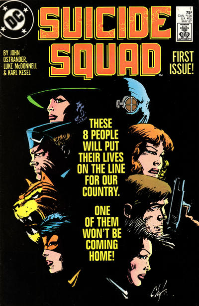 Cover for Suicide Squad (DC, 1987 series) #1 [Direct Sales]