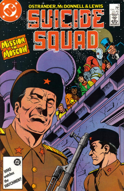 Cover for Suicide Squad (DC, 1987 series) #5 [Newsstand]