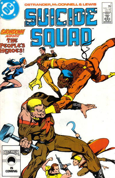 Cover for Suicide Squad (DC, 1987 series) #7 [Newsstand]