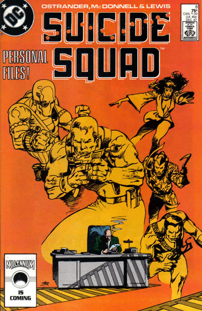 Cover for Suicide Squad (DC, 1987 series) #8