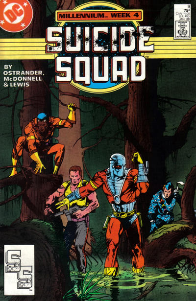 Cover for Suicide Squad (DC, 1987 series) #9