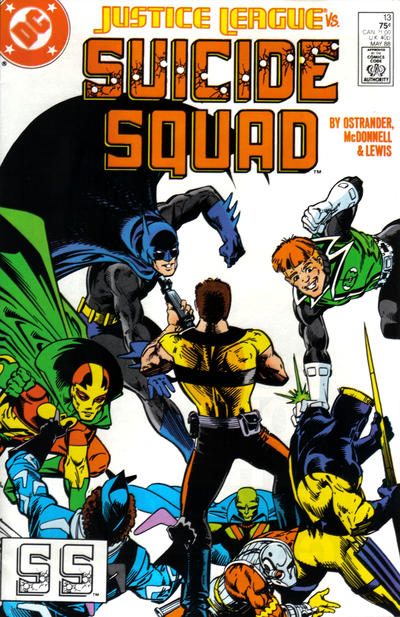Cover for Suicide Squad (DC, 1987 series) #13