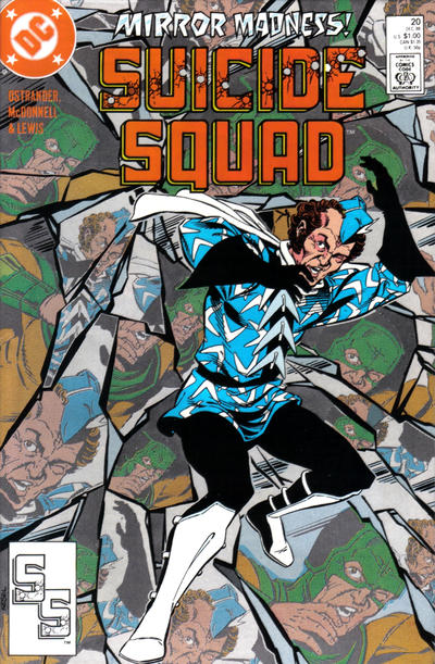 Cover for Suicide Squad (DC, 1987 series) #20
