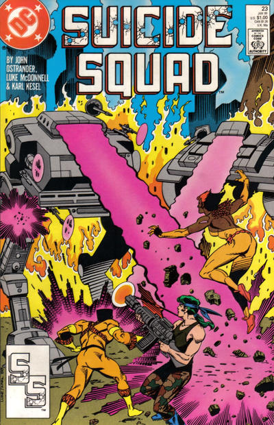 Cover for Suicide Squad (DC, 1987 series) #23