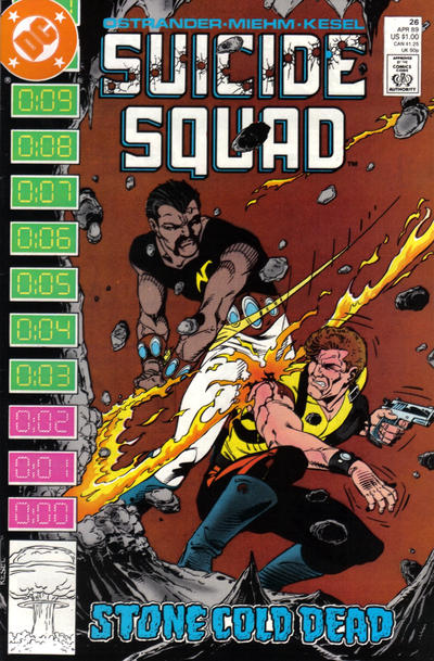 Cover for Suicide Squad (DC, 1987 series) #26