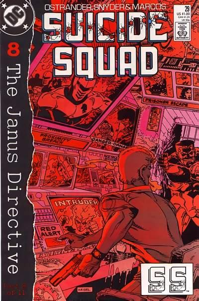 Cover for Suicide Squad (DC, 1987 series) #29