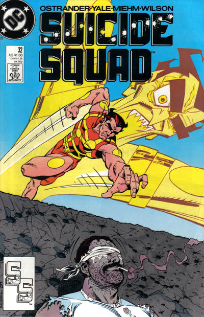 Cover for Suicide Squad (DC, 1987 series) #32