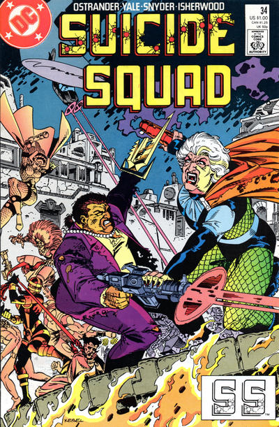 Cover for Suicide Squad (DC, 1987 series) #34