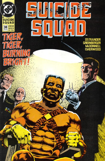 Cover for Suicide Squad (DC, 1987 series) #38