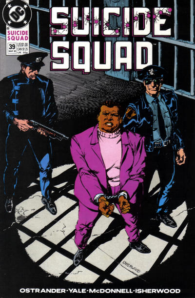 Cover for Suicide Squad (DC, 1987 series) #39