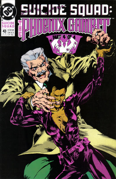 Cover for Suicide Squad (DC, 1987 series) #43