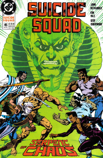 Cover for Suicide Squad (DC, 1987 series) #45