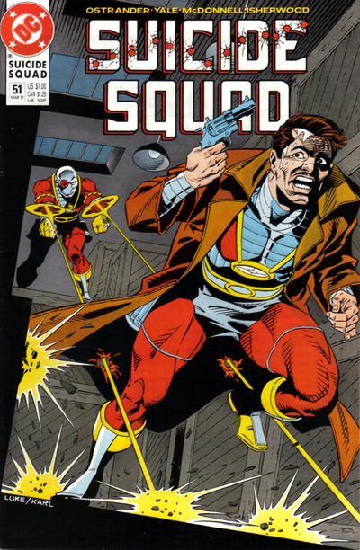 Cover for Suicide Squad (DC, 1987 series) #51