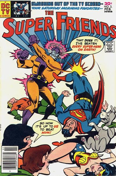 Cover for Super Friends (DC, 1976 series) #3