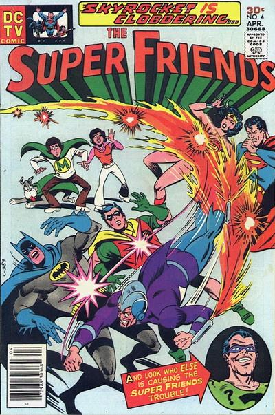 Cover for Super Friends (DC, 1976 series) #4