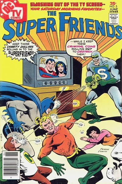Cover for Super Friends (DC, 1976 series) #5