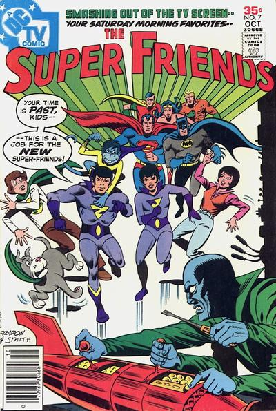 Cover for Super Friends (DC, 1976 series) #7
