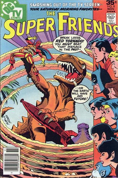 Cover for Super Friends (DC, 1976 series) #8