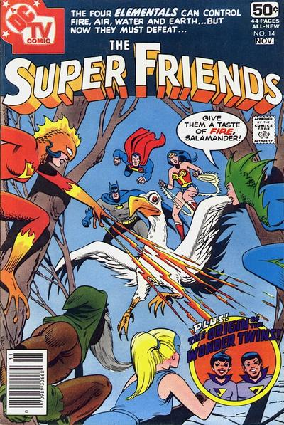 Cover for Super Friends (DC, 1976 series) #14 [Whitman cover]
