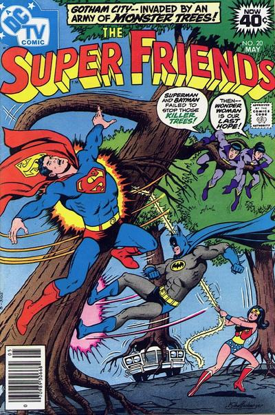 Cover for Super Friends (DC, 1976 series) #20