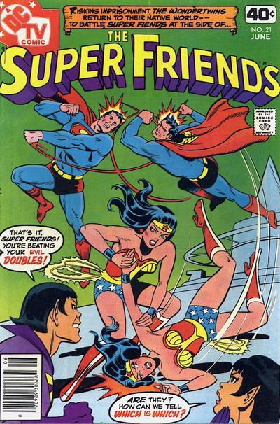 Cover for Super Friends (DC, 1976 series) #21 [Whitman Variant]