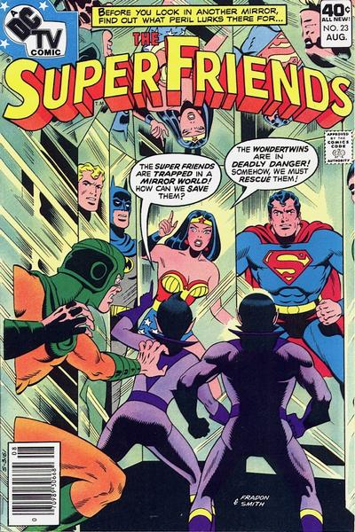 Cover for Super Friends (DC, 1976 series) #23