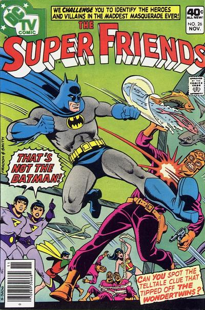 Cover for Super Friends (DC, 1976 series) #26