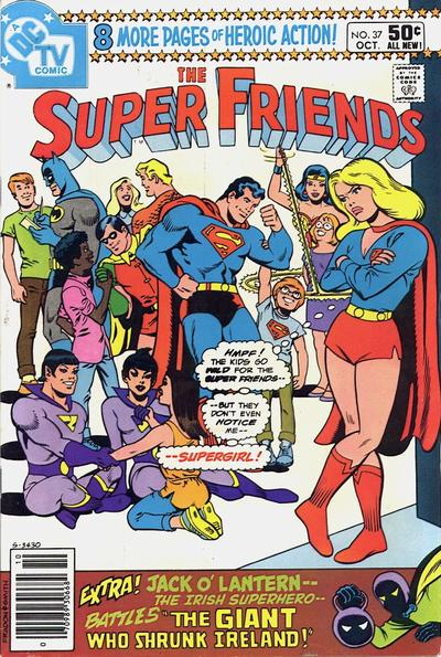 Cover for Super Friends (DC, 1976 series) #37 [Direct]