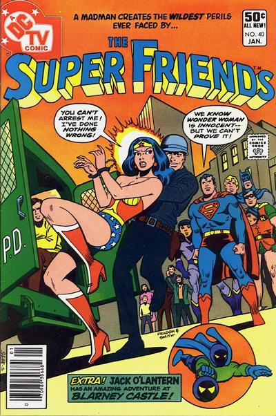 Cover for Super Friends (DC, 1976 series) #40