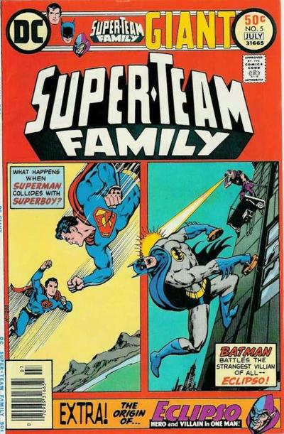 Cover for Super-Team Family (DC, 1975 series) #5
