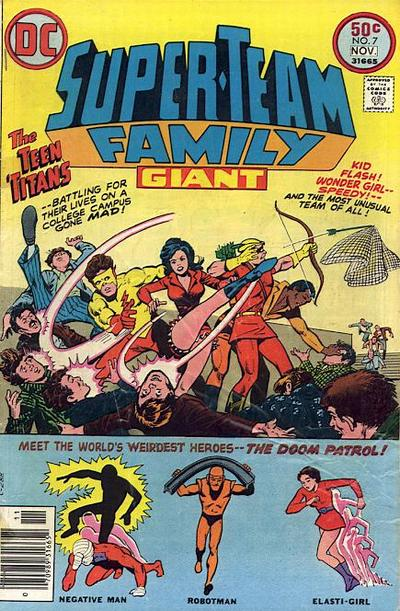 Cover for Super-Team Family (DC, 1975 series) #7