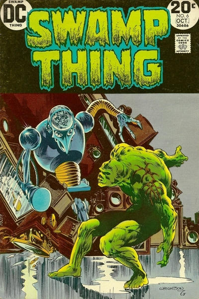 Cover for Swamp Thing (DC, 1972 series) #6