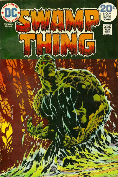 Cover for Swamp Thing (DC, 1972 series) #9