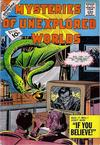Cover for Mysteries of Unexplored Worlds (Charlton, 1956 series) #27