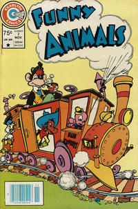 Cover Thumbnail for Funny Animals (Charlton, 1984 series) #2