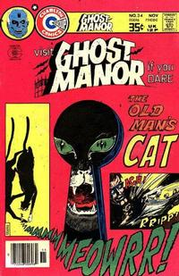 Cover Thumbnail for Ghost Manor (Charlton, 1971 series) #34