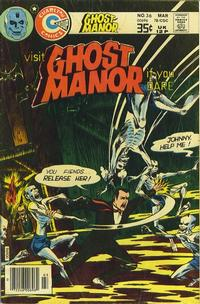 Cover Thumbnail for Ghost Manor (Charlton, 1971 series) #36