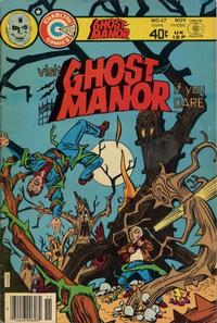 Cover Thumbnail for Ghost Manor (Charlton, 1971 series) #47