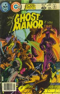 Cover Thumbnail for Ghost Manor (Charlton, 1971 series) #48