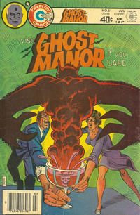 Cover Thumbnail for Ghost Manor (Charlton, 1971 series) #51