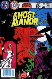 Cover Thumbnail for Ghost Manor (Charlton, 1971 series) #72
