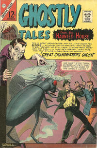 Cover Thumbnail for Ghostly Tales (Charlton, 1966 series) #58
