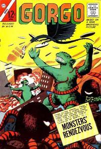 Cover for Gorgo (Charlton, 1961 series) #12 [British]