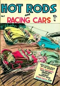 Cover Thumbnail for Hot Rods and Racing Cars (Charlton, 1951 series) #7