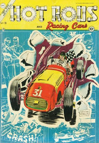Cover Thumbnail for Hot Rods and Racing Cars (Charlton, 1951 series) #18