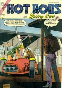 Cover Thumbnail for Hot Rods and Racing Cars (Charlton, 1951 series) #20